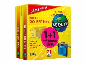 Přípravek Bioprospect BIO-P1 do septiku 100g 1+1 ZDARMA
