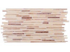 Panel obkladový 3D PVC D0010 - kámen světlý /  93,5 x 46,9 cm