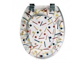 WC sedátko - polyresin golf