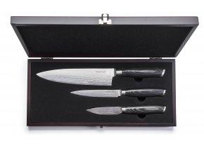 G21 - Sada nožů Gourmet Damascus small box 3ks