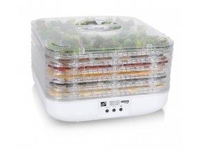 G21 - Sušička na ovoce, zeleninu a houby Paradiso cube - bílá