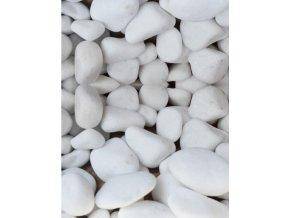 Mramor valoun Thasos jasně bílý 10-20mm 20 kg / pytel