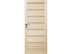Interiérové dveře SYCYLIA Masiv - plné - 80 cm