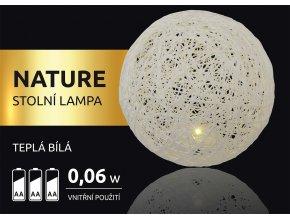 LED dekorace - Nature stolní lampa 1 LED