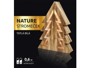 LED dekorace - Nature stromeček 10 LED