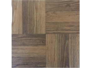 Samolepící podlahové čtverce z PVC - DŘEVĚNÉ PARKETY DF0005 - 30,4 X 30,4 CM