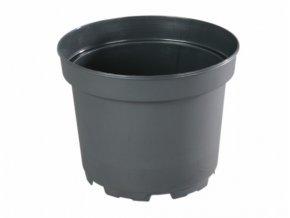 Květináč CLASSIC MCI lehčený plastový černý Ø 15cm/1,5l