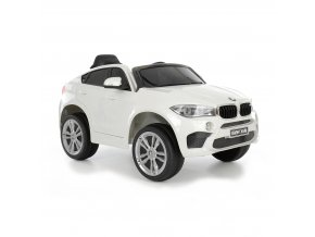 ELEKTRICKÉ DĚTSKÉ AUTO - BMW X6 WHITE - bílé