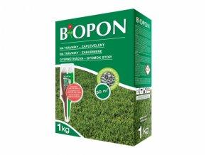 BIOPON minerální hnojivo na TRÁVNÍK proti plevelům - 1 kg