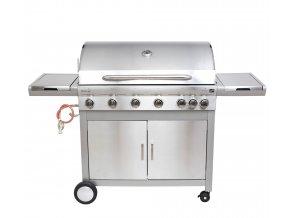 Gril plynový G21 Mexico BBQ Premium line, 7 hořáků + zdarma redukční ventil
