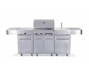 Gril plynový G21 Arizona BBQ kuchyně Premium line, 6 hořáků + zdarma redukční ventil