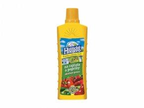 Hnojivo Hoštické KAPALNÉ - rajčata a papriky 500 ml s guánem