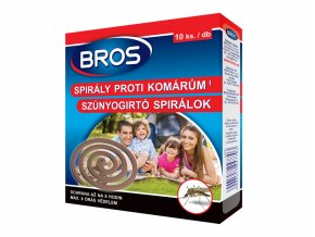 BROS - spirála proti komárům 10ks