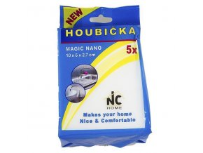 Houbička MAGIC NANO 10x6x2,7cm, sada 5ks