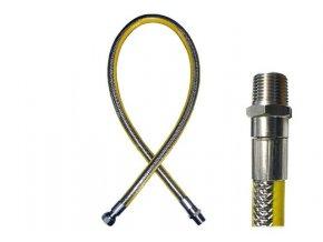 """Plynová hadice FR 1/2""""otočná koncovka - 1,0 m"""
