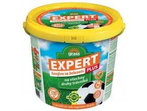 FORESTINA Grass - trávníkové hnojivo EXPERT PLUS +Fe - kbelík 10 kg