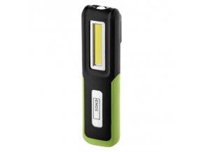 CREE LED + COB LED nabíjecí svítilna P4530, 175 lm, 1200 mAh