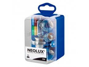 NEOLUX REZERVNÍ SADA H4 12V N472KIT-MINIBOX