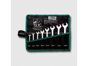 xtline gk tools sada plochych klicu 6 22 mm 8 dilu chrom obal P16031P[1]