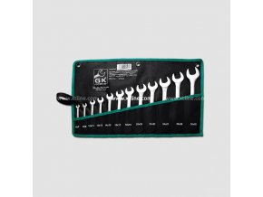 xtline gk tools sada plochych klicu 6 32 mm 12 dilu chrom obal P16033P[1]