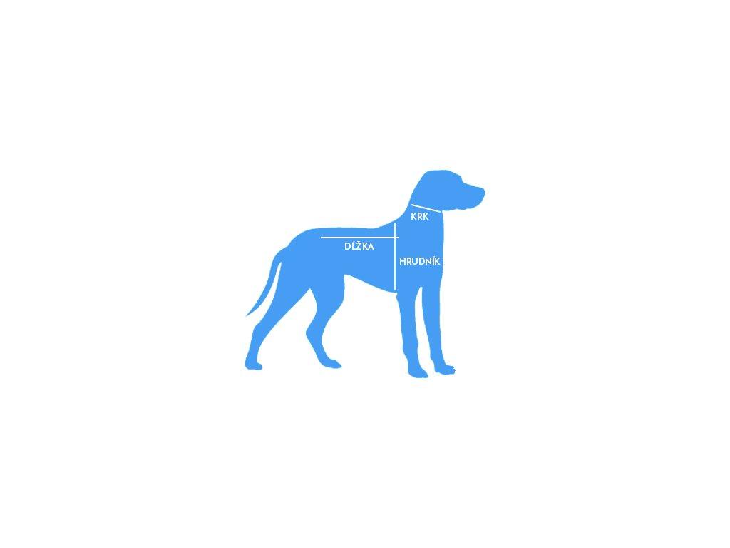ea85a34a5568 ... šaty pre psa s vodítkom červené - námornícka kotva