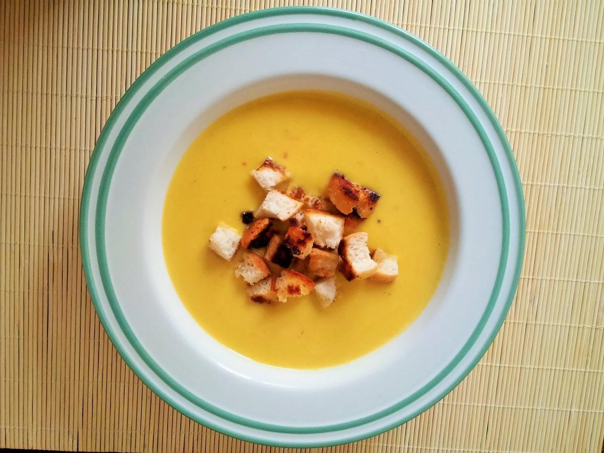 Dýňová polévka s Mango Madness