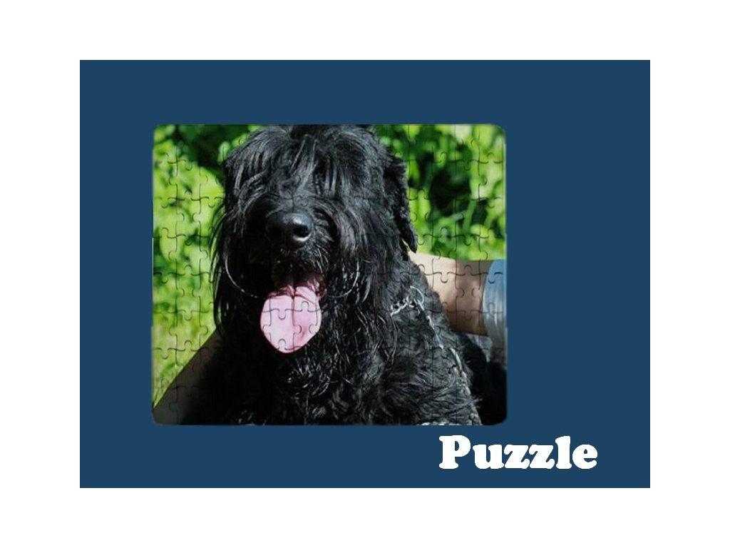 puzzle potisk