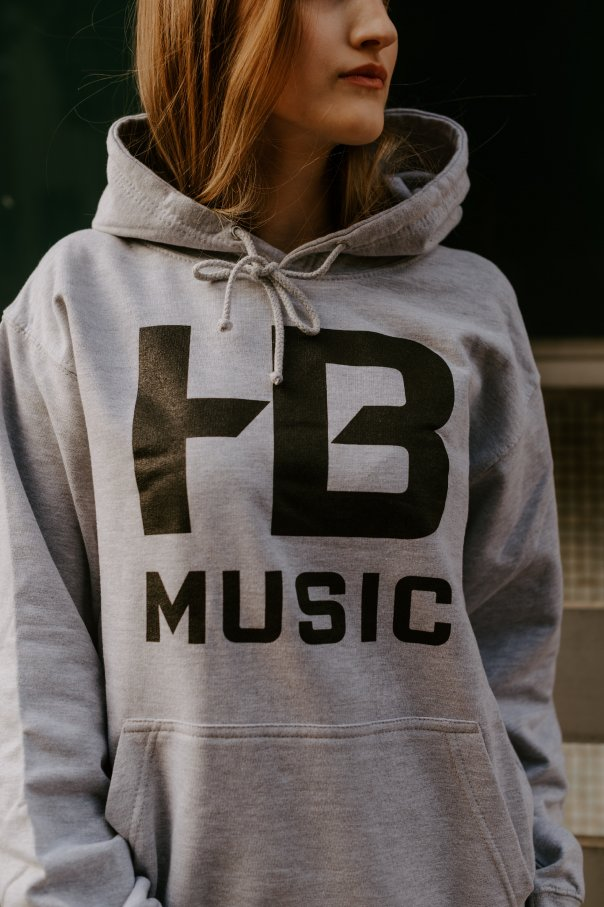 Mikina HB MUSIC Šedá