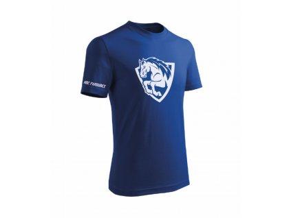 Tričko Basic modré - velké logo