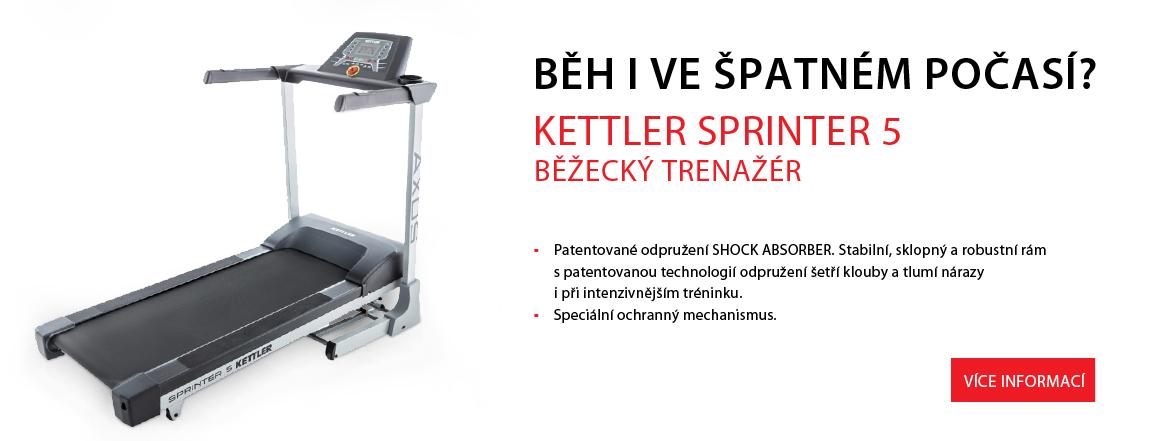 Kettler běžecký pás - Sprinter 5