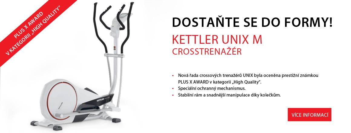 Krosový trenažer Kettler - UNIX M