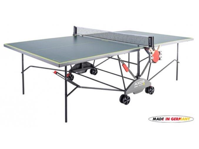Kettler INDOOR 3 vnitřní pingpongový stůl, šedý*4