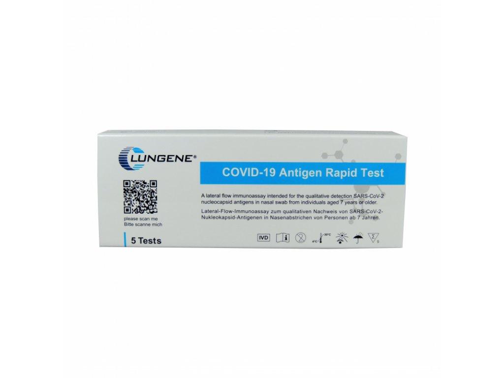 Clungene Cov-19 (SARS-CoV-2) - Nasal Swab 5 ks, Rapid Atg Test