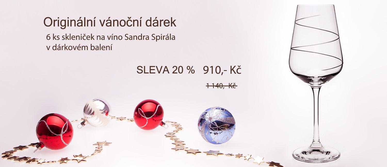 Originální vánoční dárek Sandra Spirála