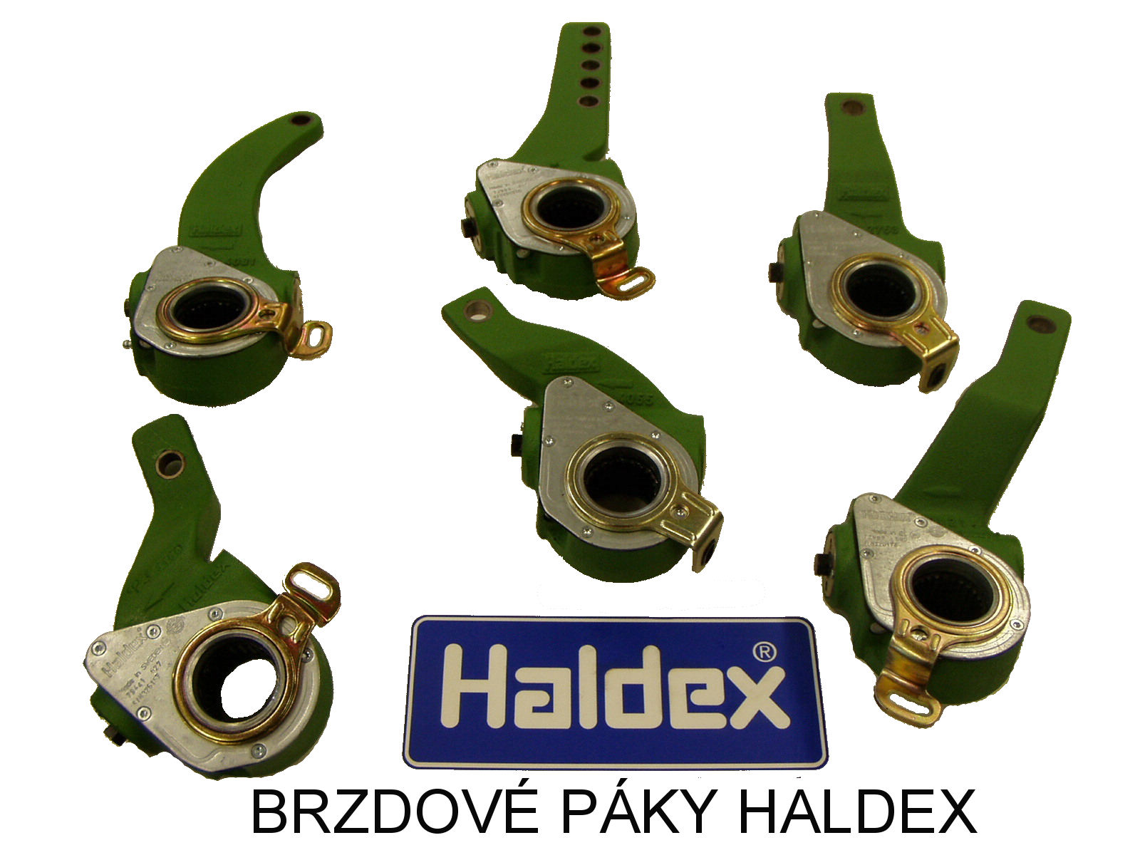 brzdové páky HALDEX