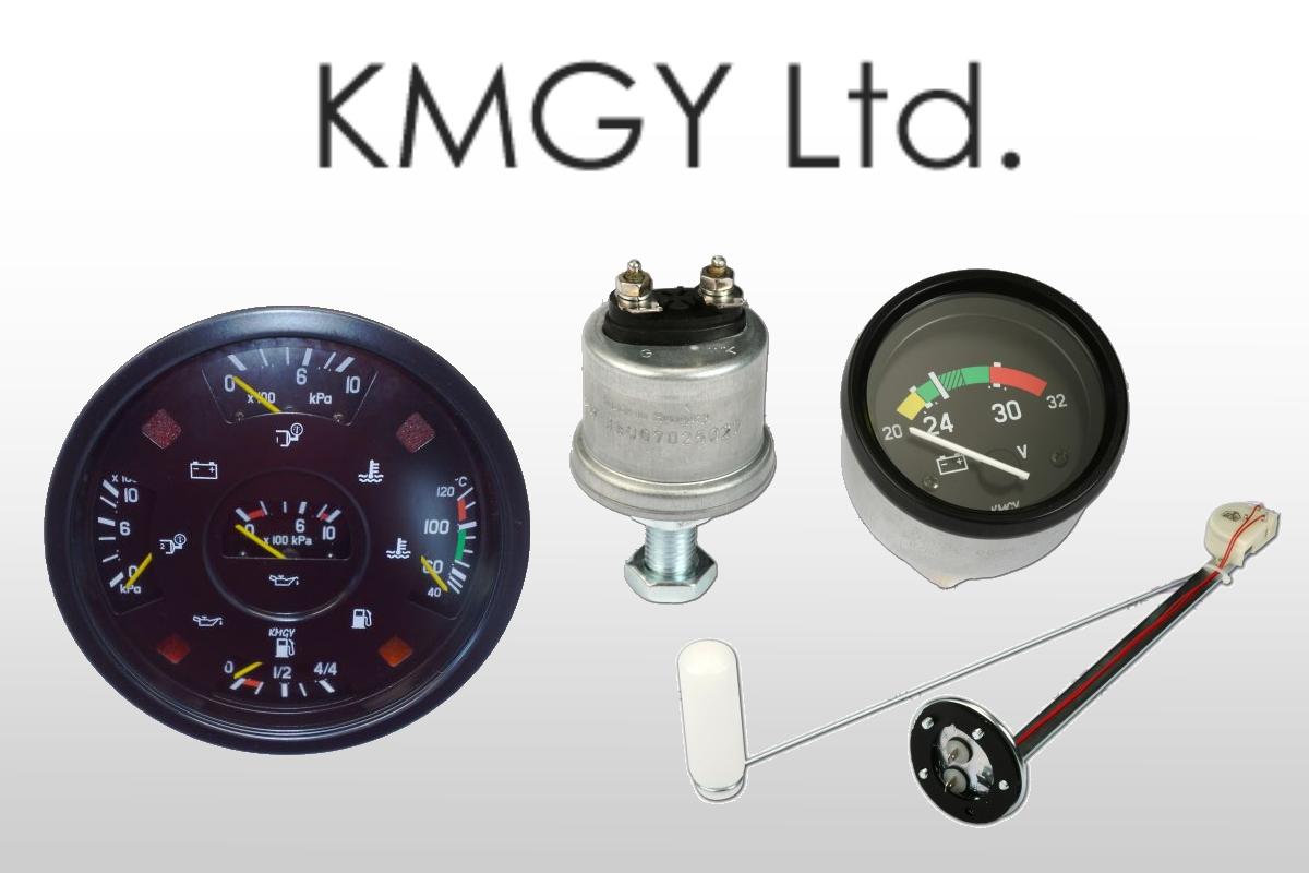 KMGY - přístroje a snímače