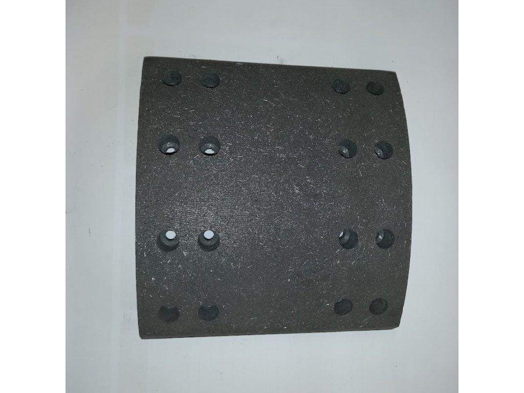 Brzdové obložení Rába Liaz 300 tl 22mm,19615, 633605