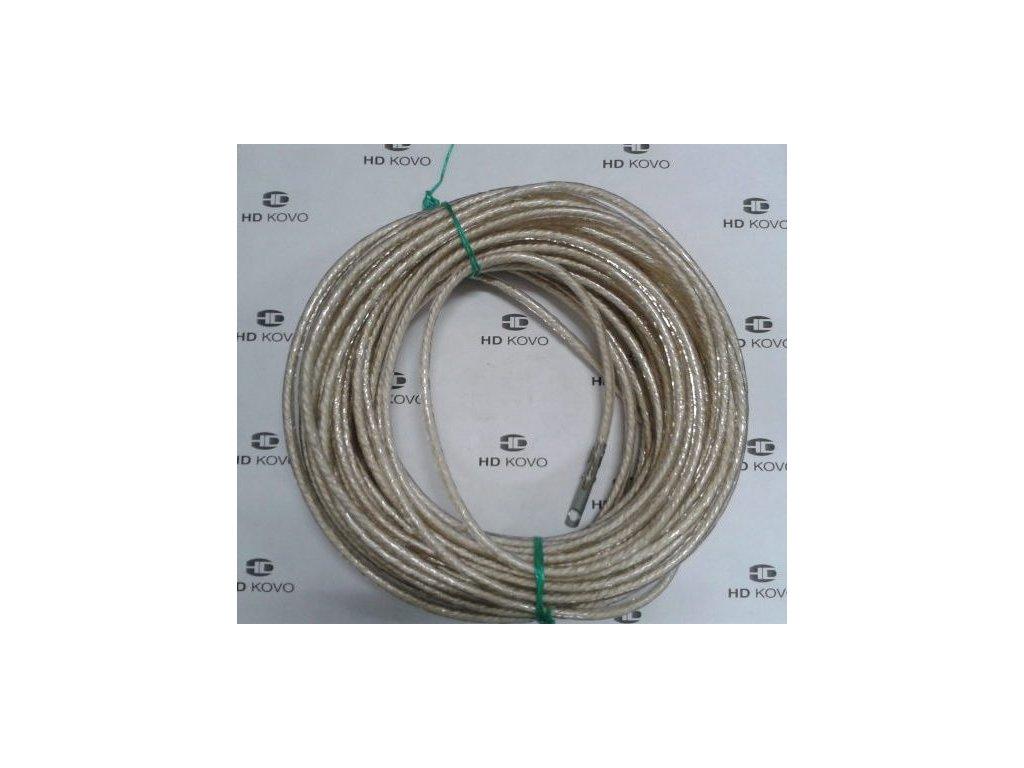 Celní lano kompletní 16m nylon d 6mm