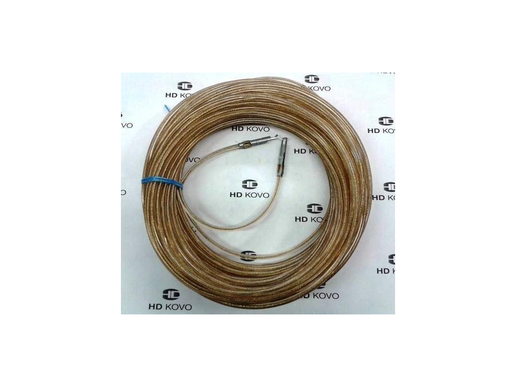 Celní lano kompletní 22m ocel d 6mm