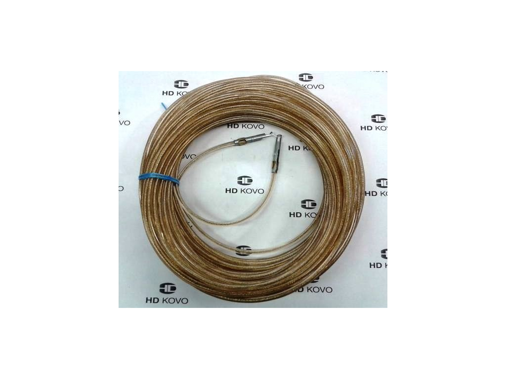 Celní lano kompletní 36m ocel d 6mm