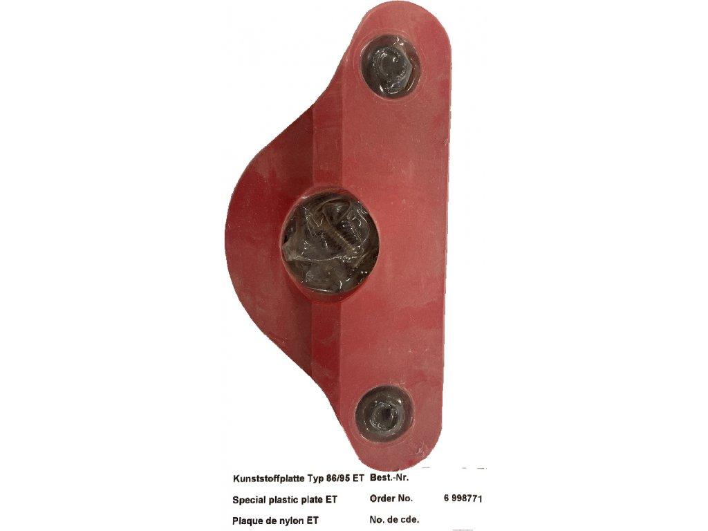 Zajišťující podložka čepu Ringfeder d 40 mm