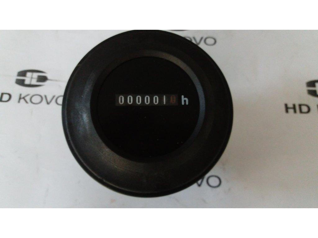 Počítadlo motohodin12V,24V, D70mm