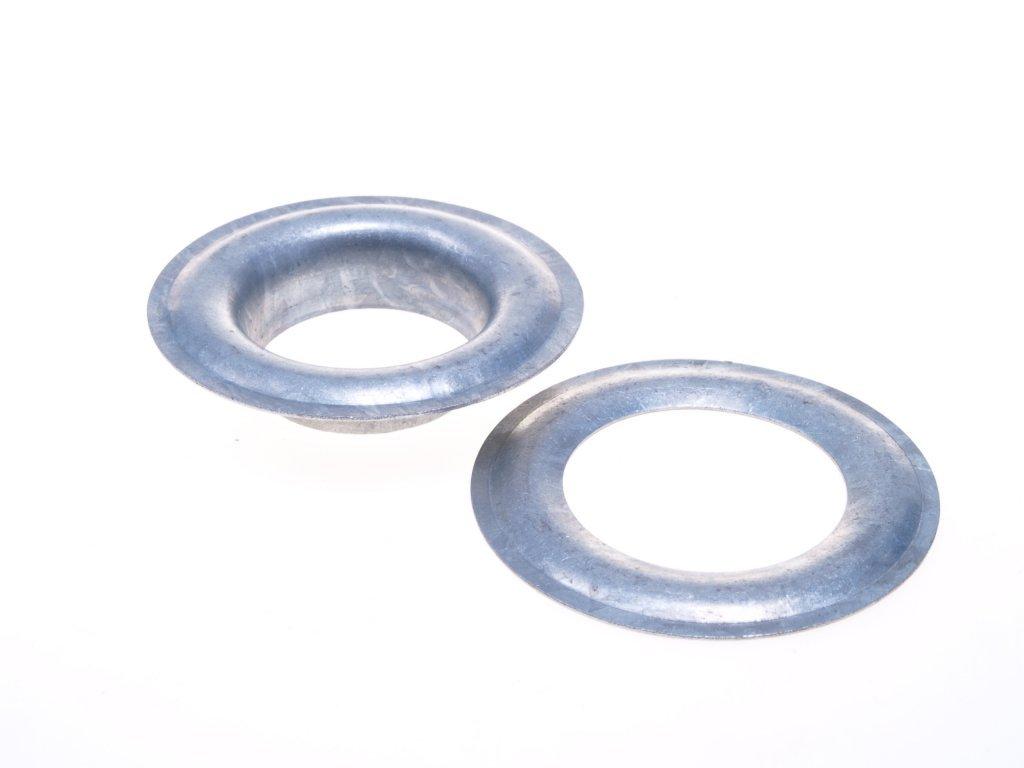 Plachtový kroužek průměr 18 mm ZZn Mi