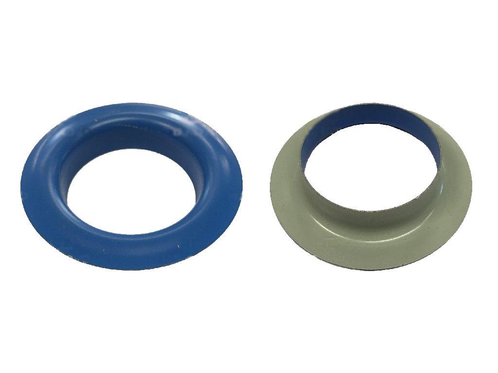 Plachtový kroužek průměr 40 mm modrý