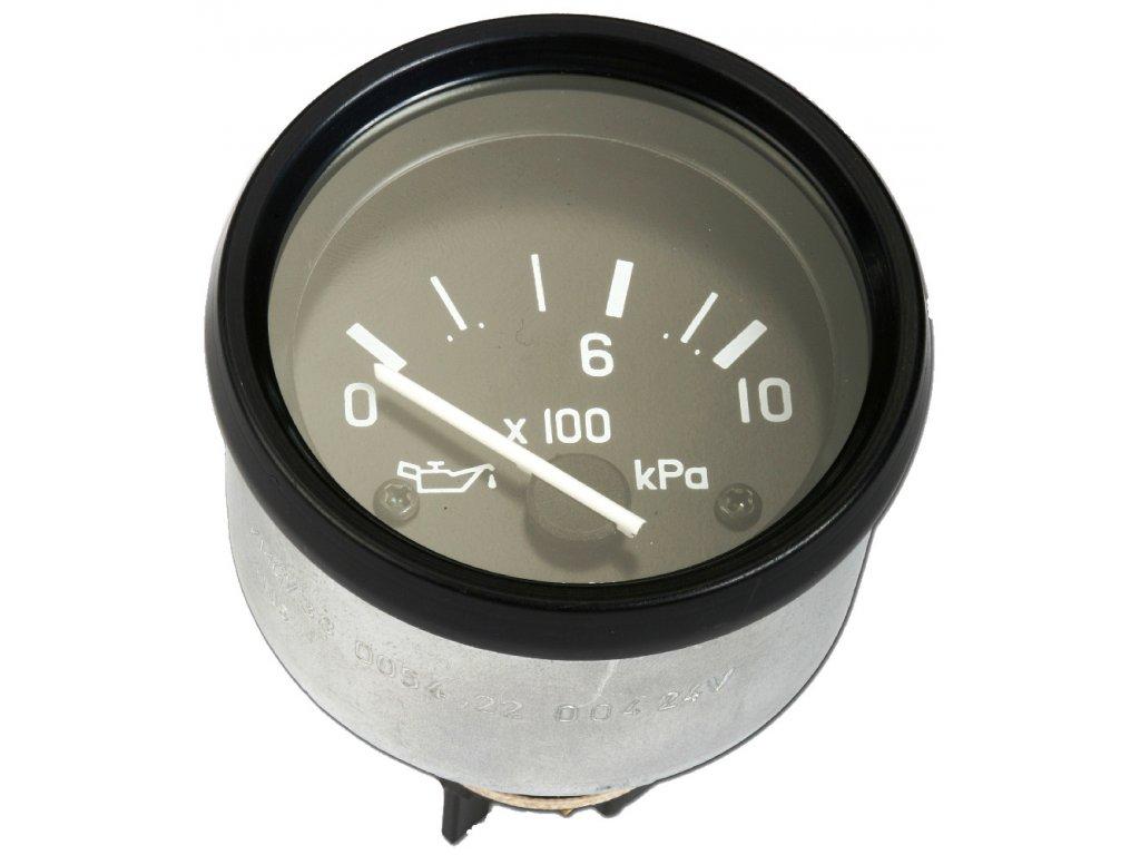 Tlakoměr oleje 12V, D52, 0-1000 kPa