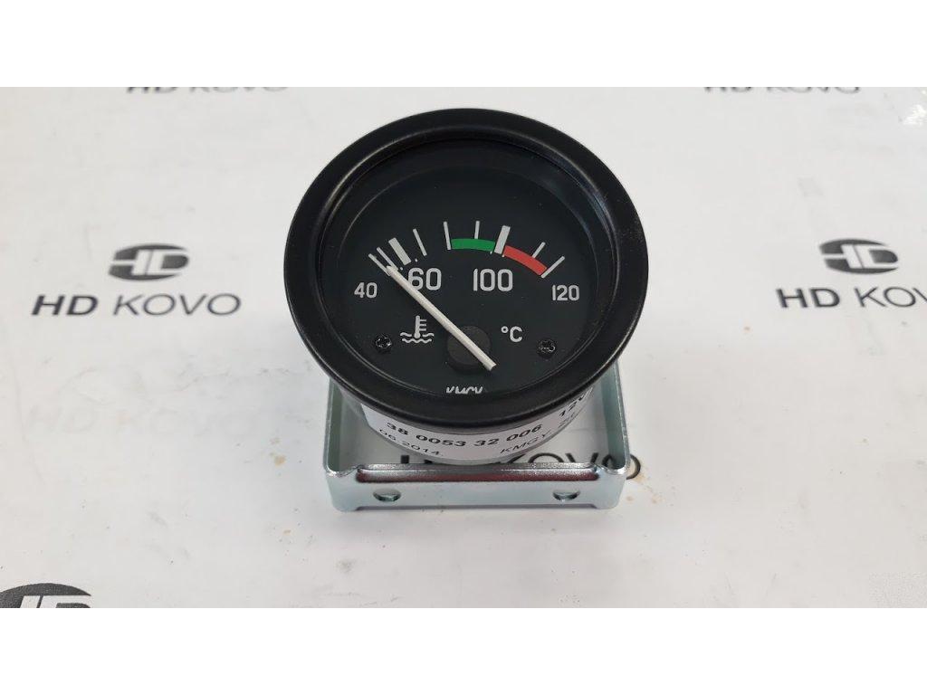 Teploměr 12V, D60  40-120oC