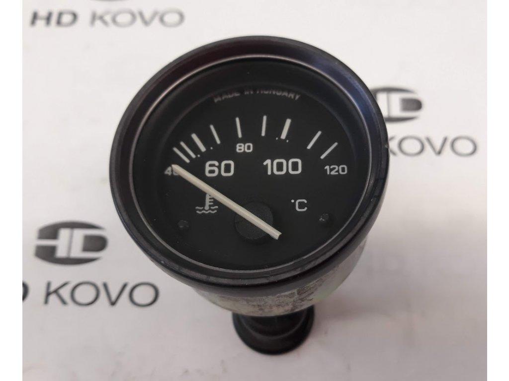 Teploměr 24 V, D52 mm, 40-120 C