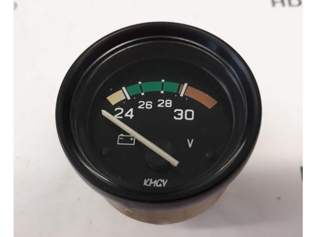 Voltmetr 24V , D 52