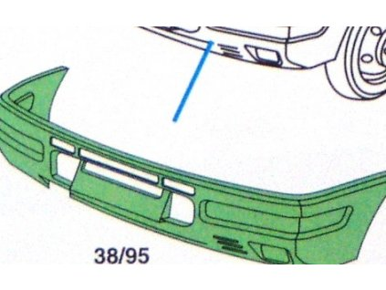 Přední nárazník I-Turbodaily