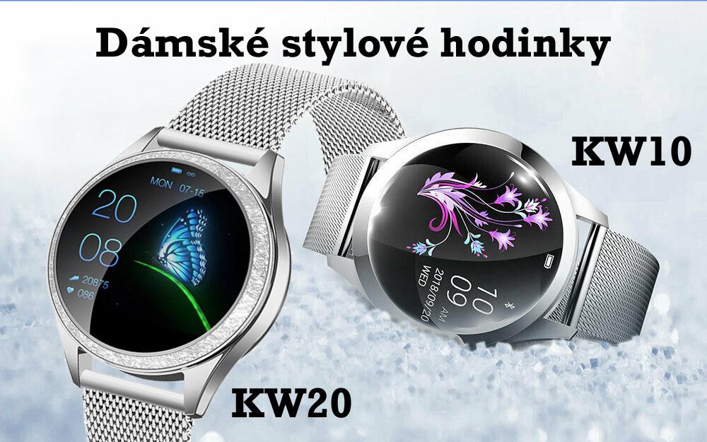 Dámské chytré hodinky KW10, KW20